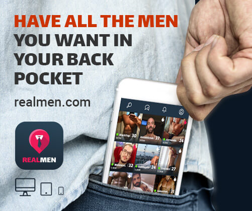 RealMen Gay Dating & Chat